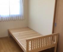 ヒノキクラフト 布団用ベッド
