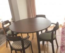 カンディハウス ルントオム 伸長式ダイニングテーブル&チェア