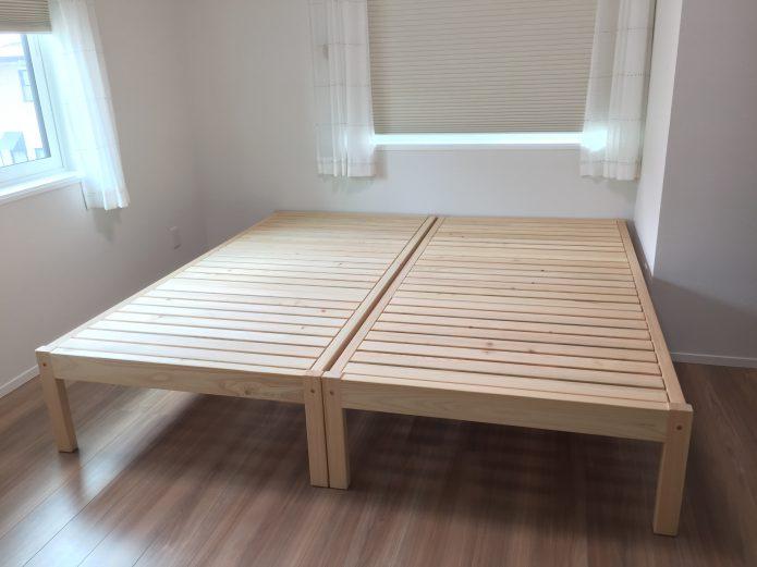 ヒノキクラフト ヒノキの総無垢 ベッド