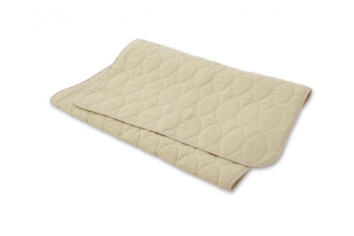 麻のベッドパッド