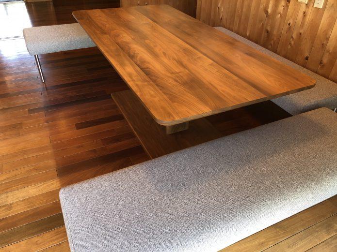 エスティック COXテーブルとベンチ