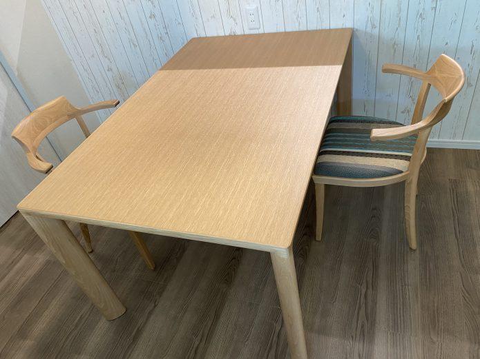 カンディハウス ヒッコリー材OTテーブル