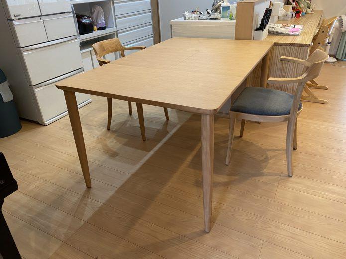 カンディハウス マム伸長式テーブル